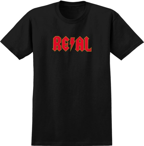 Real Skateboards Deeds /Highway to Hell Long Sleeve T-shirt -0