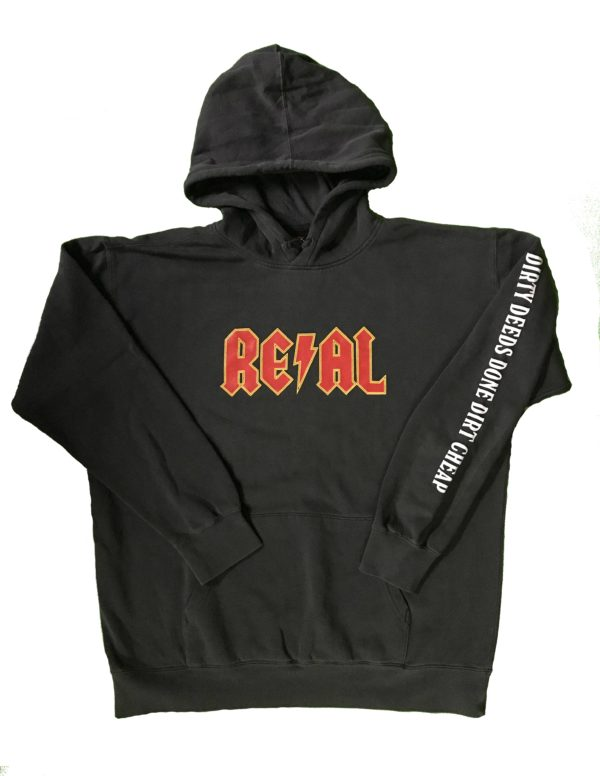 Real Skateboards Deeds /Highway to Hell Pullover Hoodie -0
