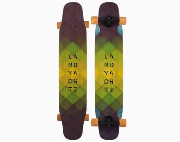 Landyachtz Bamboo Stratus Longboard DECK-0
