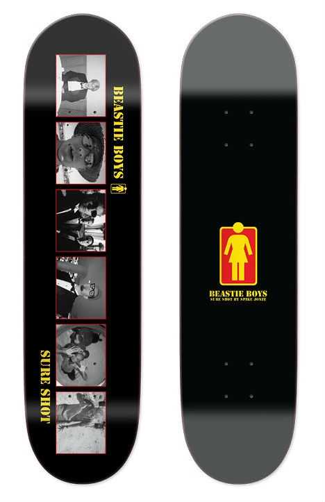 8.125 Girl Skateboards X Beastie Boys Sure Shot DECK-0